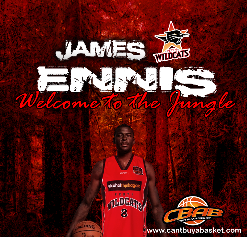Our Photoshop of James Ennis looking great in Wildcats Red